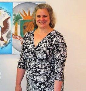 Cheryl Sim Chargée d'Affaires de l'Ambassade des EU en Côte d'Ivoire