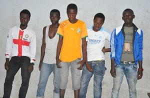 Des voyous arrêtés à Abobo