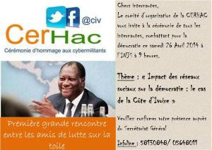 Invite CERHAC